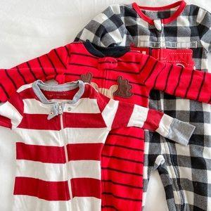 Christmas Baby Pajama Set! 6-12M
